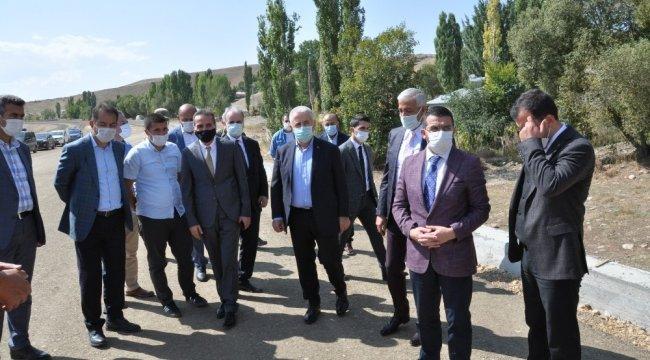 Sarıkamış-Horasan arasından yapımı devam eden 750 milyon liraya mal olacak ...
