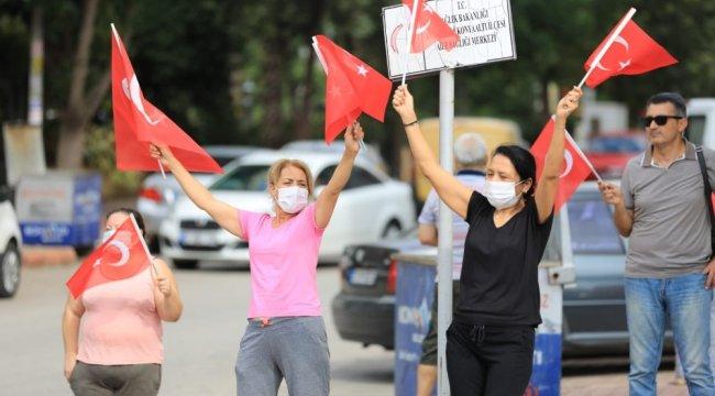 Antalya Büyükşehir Belediyesi Cumhuriyet Bandosu 29 Ekim Bayramı coşkusunu ...