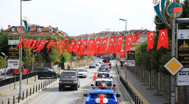 Çekmeköy Belediyesi 29 Ekim Cumhuriyet Bayramı'nı coşku ile kutladı. Ca...