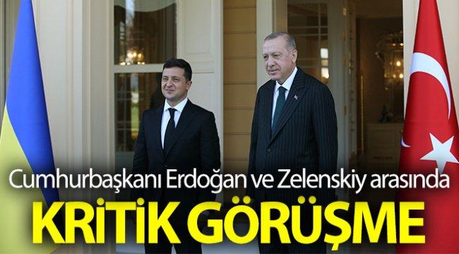 Cumhurbaşkanı Erdoğan, Zelenskiy ile bir araya geldi
