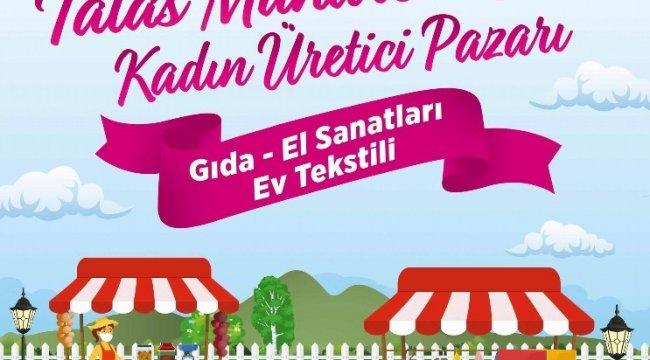 Talas Belediyesi ve Kadın Girişimi Üretimi ve İşletme Kooperatifi iş birliğ...