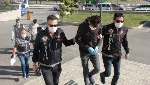 Karaman'da uyuşturucu ticareti yaptıkları iddiasıyla gözaltına