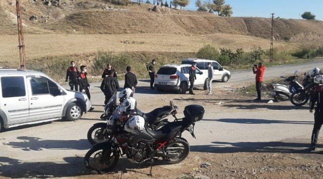 Adıyaman İl Emniyet Müdürlüğüne bağlı Yunus Polis ekiplerince yapılan şok u...