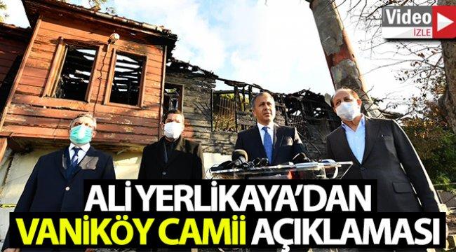 """İstanbul Valisi Ali Yerlikaya: """"Projenin 700 gün, içerisinde tamamlanmasını ön görüyoruz"""""""