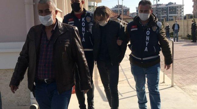 Konya'da bir buçuk yıldır birlikte olduğu 2 çocuk annesi kadını tabancayla göğsünden vurdu