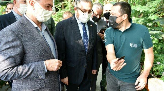 Konya'da bir dizi ziyaret gerçekleştiren Pakistan Ankara Büyükelçisi Mu...