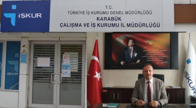 Karabük Çalışma ve İş Kurumu İl Müdürü V. Mustafa Çalış, kendi işini kurmak...