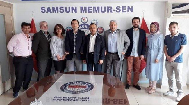 """Samsun Memur-Sen Engelliler Komisyonu Başkanı Murat Kiper, """"Herkes içi..."""