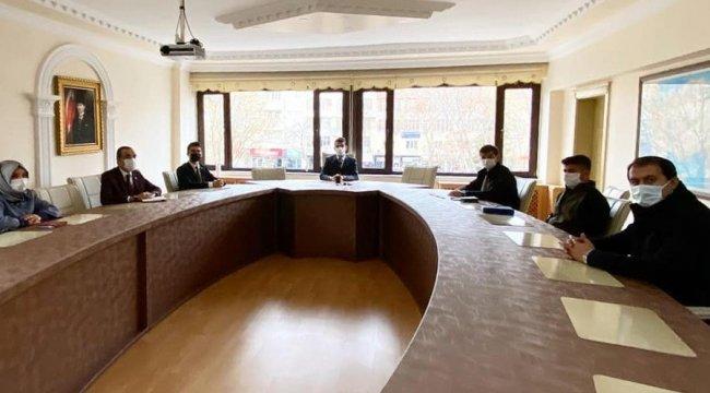 Adıyaman'ın Gölbaşı ilçesinde av komisyonu toplantısı düzenlendi