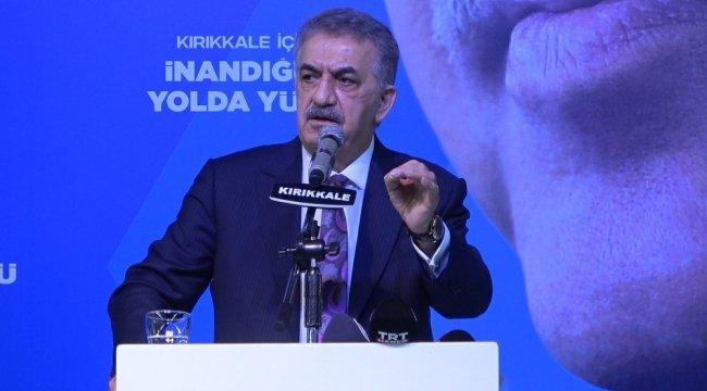 AK Parti Genel Başkan Yardımcısı Hayati Yazıcı, Cumhurbaşkanı Recep Tayyip ...