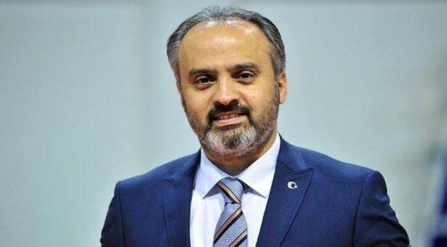 Bursa Belediye Başkanı Alinur Aktaş, CHP Bursa İl Başkanı İsmet Karaca'...