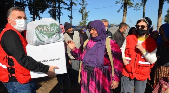 Tuzla Belediyesi, Türk Kızılayı ve HAYAD Derneği işbirliğiyle Suriyeli mült...