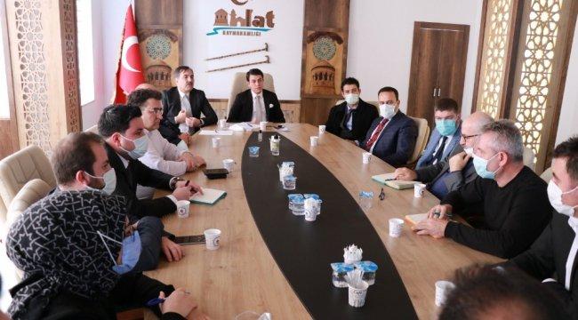 Bitlis'in Ahlat ilçesinde Doğu Anadolu Kalkınma Ajansı (DAKA) Turizm ve...