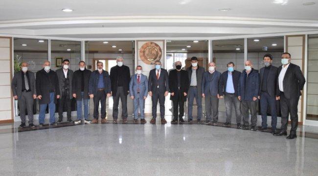 Malatya Ticaret ve Sanayi Odası (MTSO) Başkanı Oğuzhan Ata Sadıkoğlu, AK Pa...