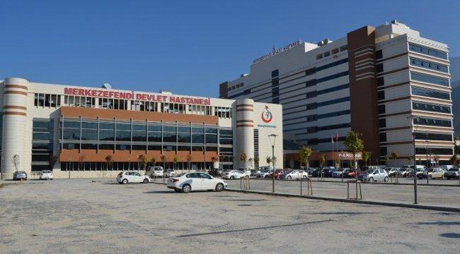 Manisa'da korona virüsle mücadelede pandemi hastanesi olarak ilan edile...