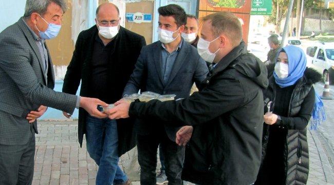 Gaziantep'in Araban ilçesi Kaymakamı Abdulhamit Mutlu, Berat Kandili ve...