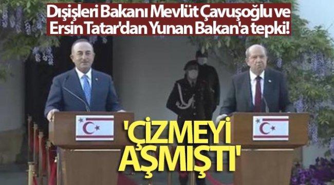 Ο υπουργός Εξωτερικών Mevlüt Çavuşoğlu και ο Ersin Tatar αντιδρούν στον Έλληνα Υπουργό: «Ξεπέρασε την εκκίνηση» – Γενικά