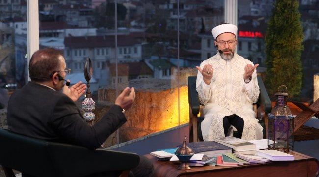 """Diyanet İşleri Başkanı Prof. Dr. Ali Erbaş, """"Sosyal medyada biri sizin..."""