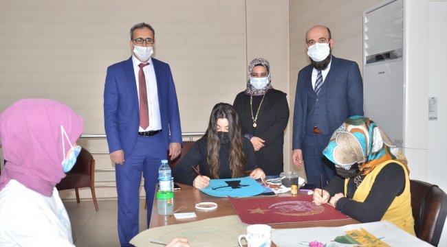 Kahramanmaraş'ın Elbistan ilçesinde Halk Eğitimi Merkezi (HEM) Müdürlüğ...