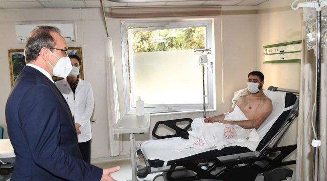 Kocaeli Valisi Seddar Yavuz, Anadolu Döküm fabrikasında çıkan yangında yara...