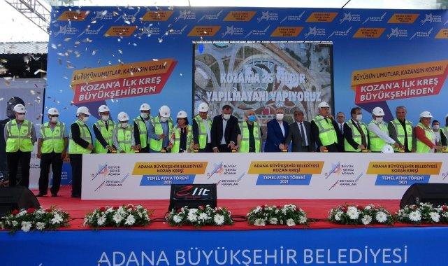 Adana Büyükşehir Belediyesi tarafından Kozan ilçesine yapılacak olan kreşin...