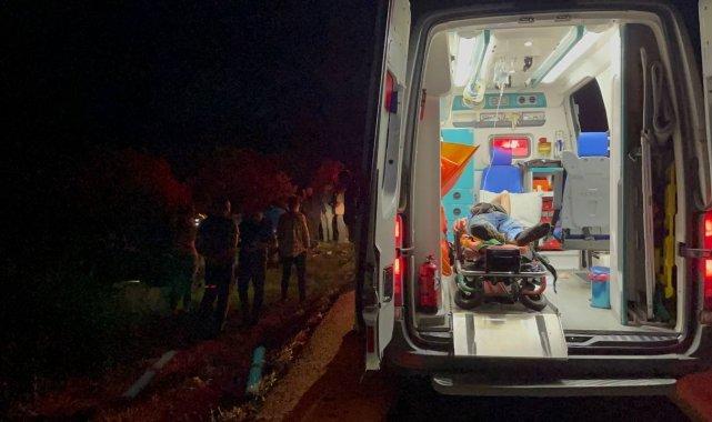 Bursa'nın İznik ilçesinde 3 aracın karıştığı zincirleme trafik kazasınd...