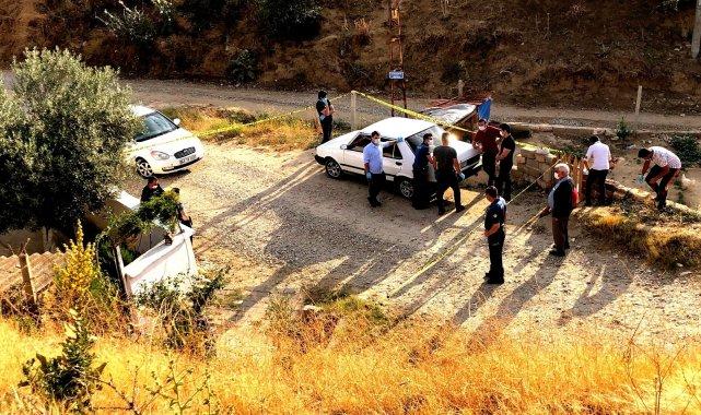 Manisa'nın Sarıgöl ilçesinde bir kişi önce tartıştığı komşusunu vurdu, ...
