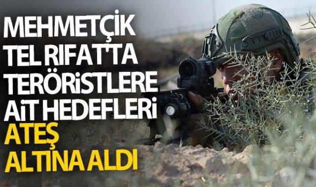 Mehmetçik, Afrin'de hastaneye saldıran terör örgütü PKK/YPG'ye ait hedefleri vurdu