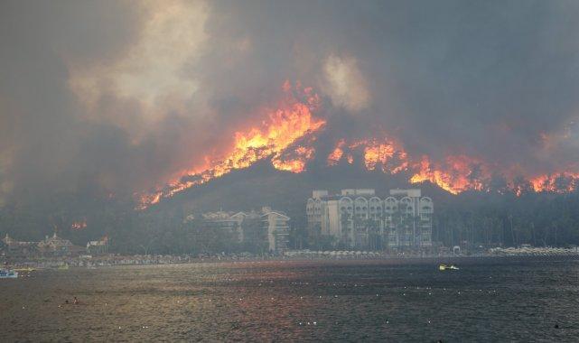 27 Haziran'da yangın felaketi yaşayan Marmaris, bir ay sonra daha büyük...