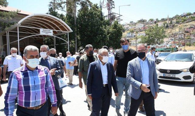 Kayseri Büyükşehir Belediye Başkanı Dr. Memduh Büyükkılıç, Hacılar Belediye...