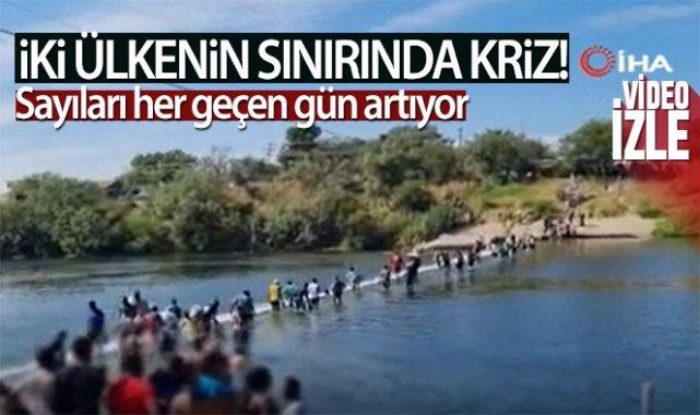 ABD-Meksika sınırındaki insani kriz: 10 bini aşkın göçmen köprü altında