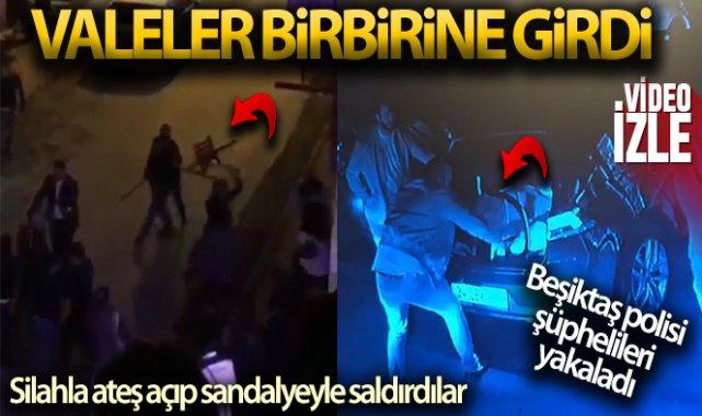 Beşiktaş'ta valeler birbirine girdi