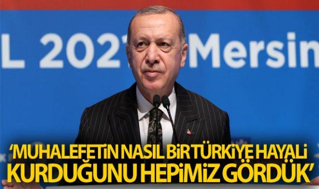 Cumhurbaşkanı Erdoğan: 'En temel belediye hizmetlerini yerine getiremeyen bir beceriksizlikle karşı karşıyayız'