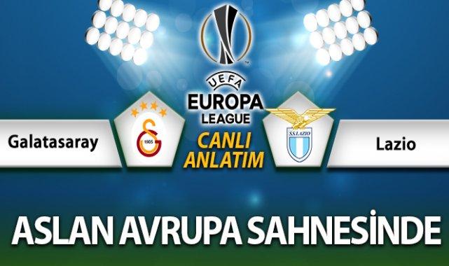 Galatasaray Lazio Maç Anlatımı