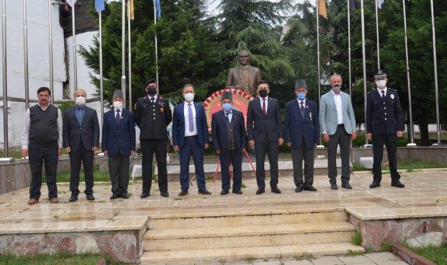 Kastamonu'nun Hanönü ilçesinde düzenlenen törenle, Gaziler Günü kutland...