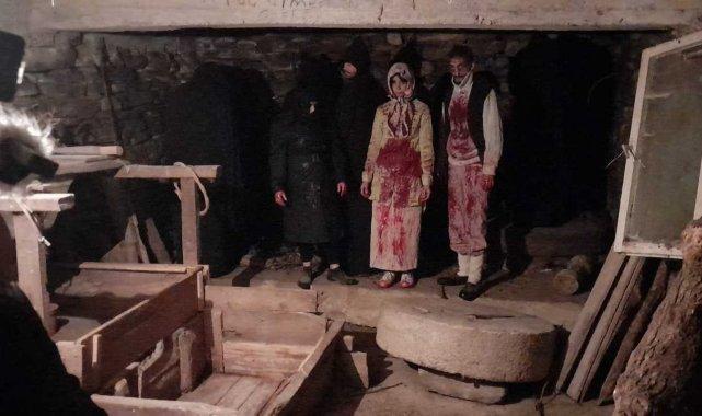 Zonguldaklı Yönetmen Kemal Danacı 400 yıllık değirmende korku filmi çekimi ...