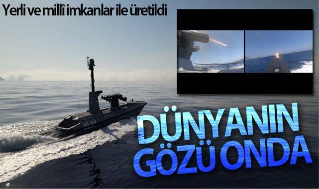 Dünyanın gözü insansız deniz aracı ULAQ-SİDA'da