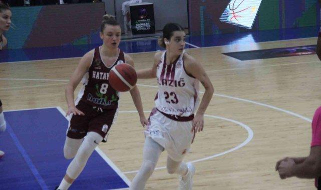 Kadınlar Basketbol Süper Ligi'nin ilk haftasında Hatayspor deplasmanda ...