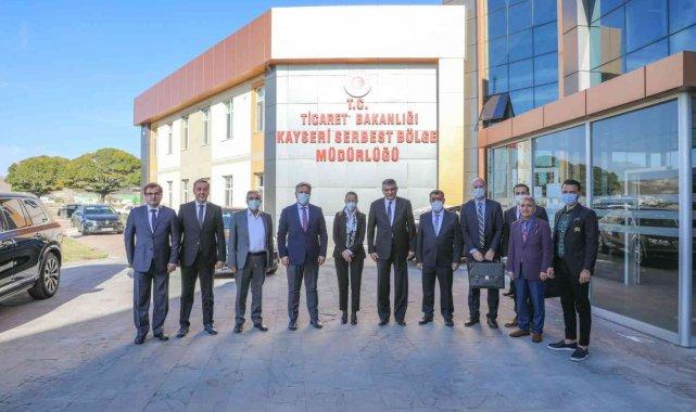 Melikgazi Belediye Başkanı Dr. Mustafa Palancıoğlu, Ticaret Bakanlığı Serbe...